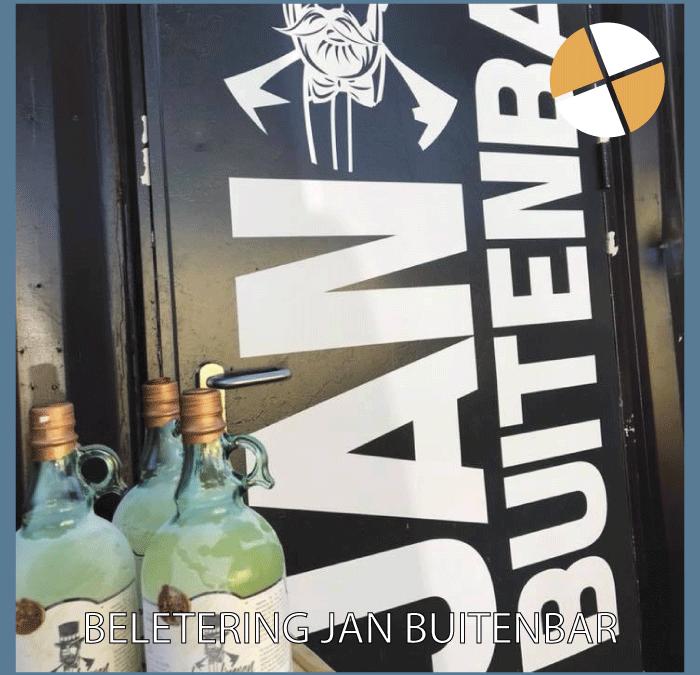 BELETTERING – Jan Buitenbar Oijen