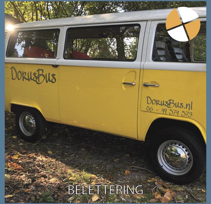 BELETTERING  – DorusBus