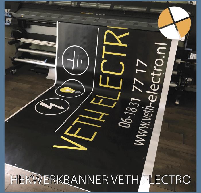 HEKWERKBANNER – Veth Electro Dongen