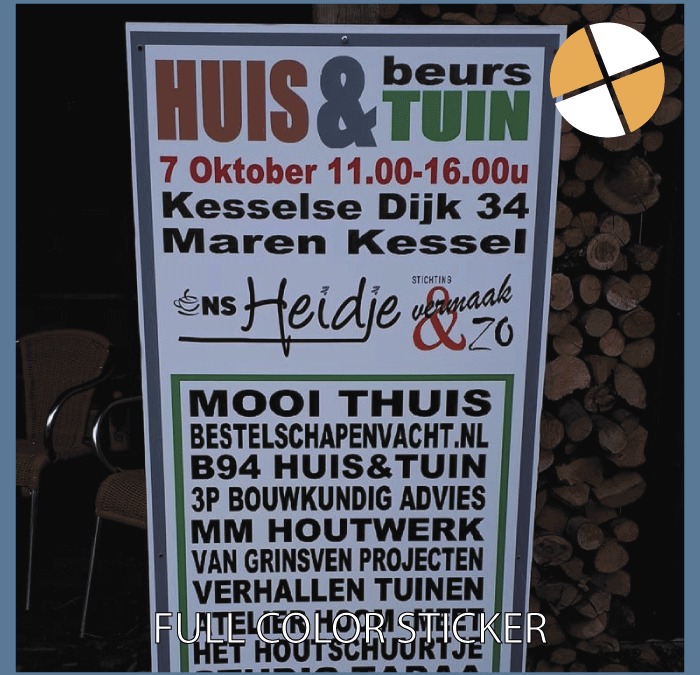 FULL COLOUR STICKERS   – Ons Heidje