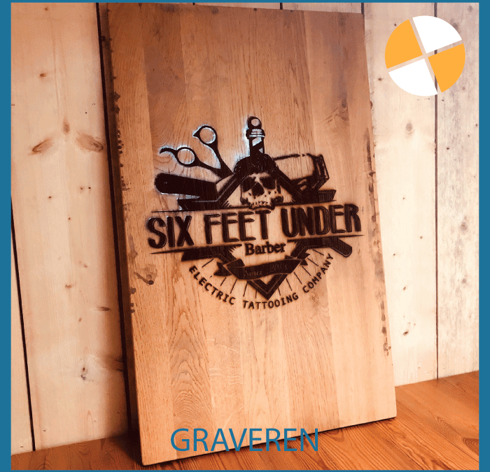 GRAVEREN OP HOUT –  Six Feet Under Barber