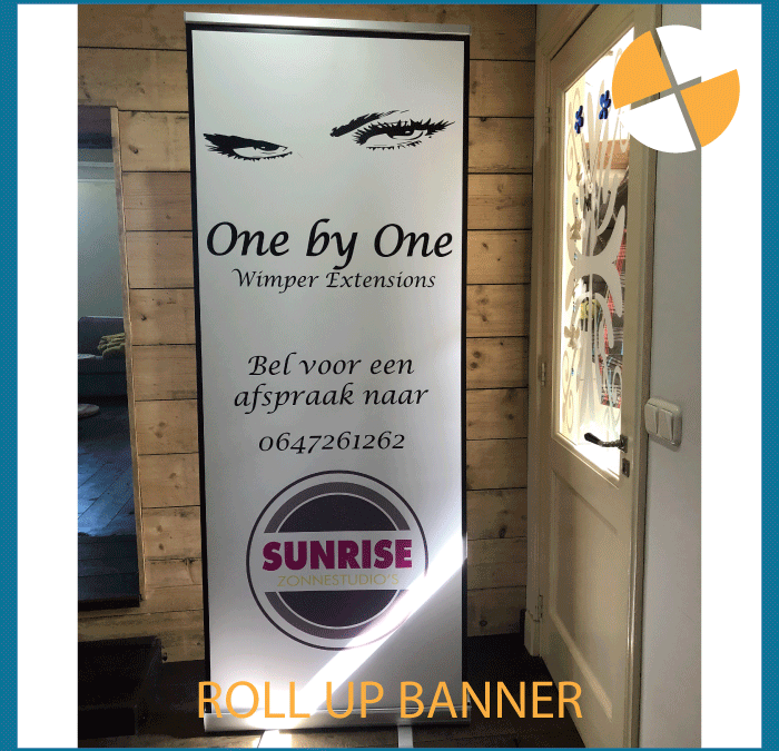 ROLL UP BANNER   – One by One