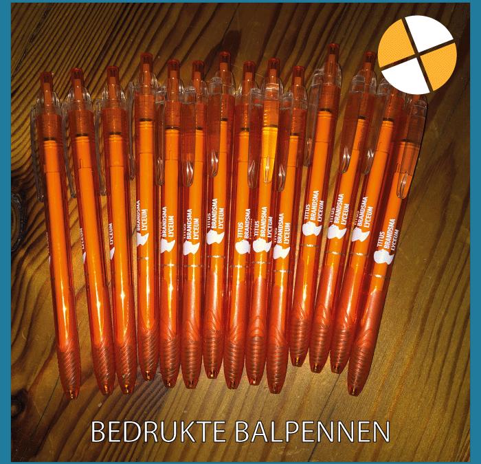 BEDRUKTE BALPENNEN – Titus Brandsma Lyceum