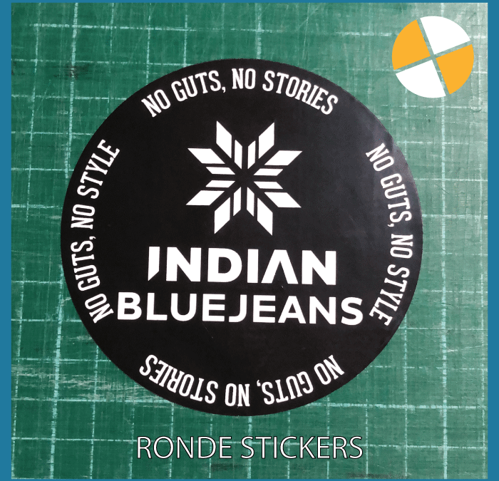 RONDE STICKERS – Indian Blue Jeans