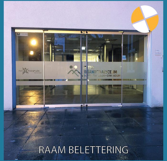RAAM BELETTERING – TBL OSS
