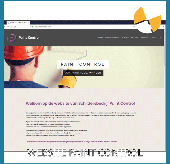 WEBSITE – PAINT CONTROL