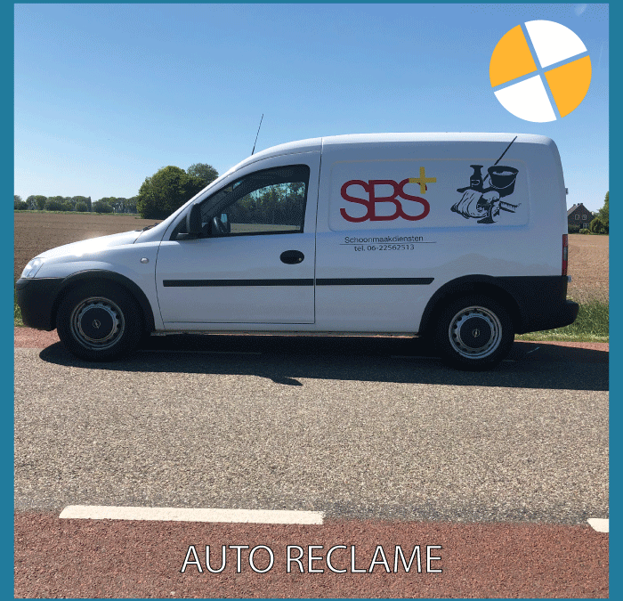 AUTO RECLAME – SBS+ SCHOONMAAKDIENSTEN