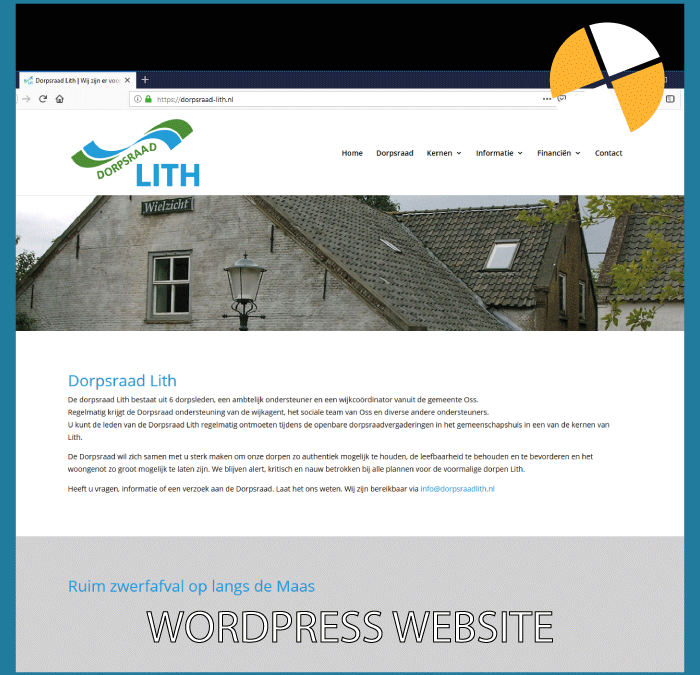 WORDPRESS WEBSITE – DORPSRAAD LITH