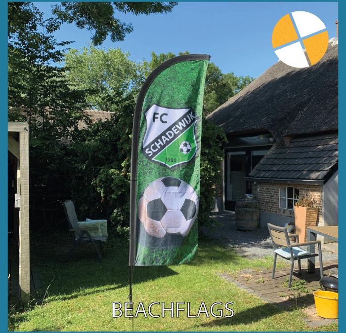 BEACHFLAGS – FC SCHADEWIJK