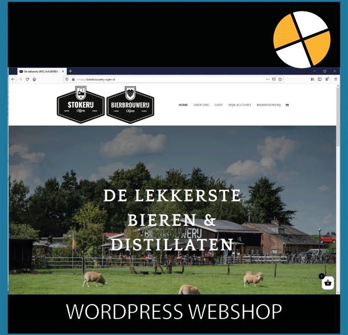 WORDPRESS WEBSHOP- BIERBROUWERIJ OIJEN