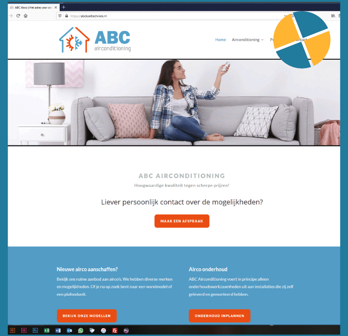 WORDPRESS WEBSITE- ABC KOELTECHNIEK