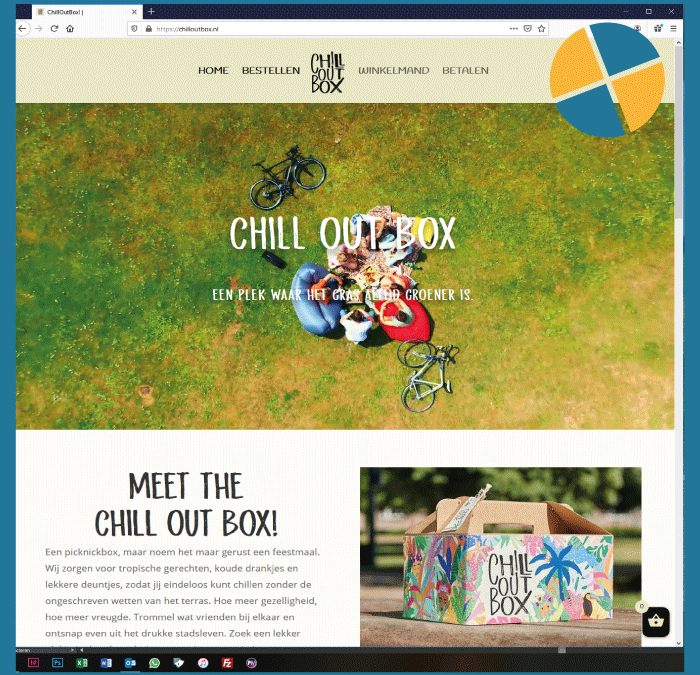 WORDPRESS WEBSHOP – CHILL OUT BOX